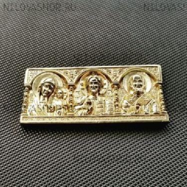 Автомобильная икона из бронзы с Св.Николаем