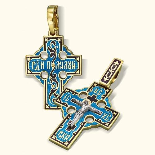 Нательный крест модель «К014»